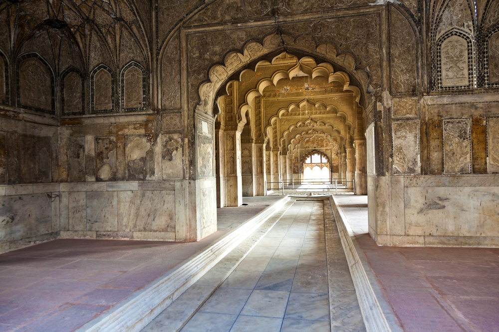 Diwan I Khas at the Lal Qila or Red Fort_89728087